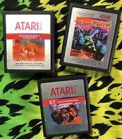 Atari 2600 Games E.T. / Moon Patrol / Swordquest