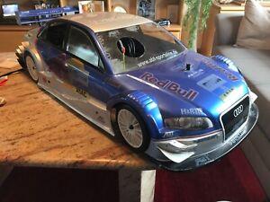 """SMT 1:5 Audi A4 DTM """"Red Bull"""" RTR neu Ausstellungsstück."""