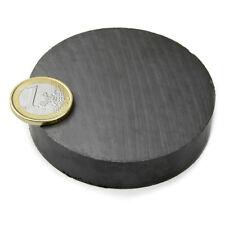 Super Magnete Disco in Ferrite dimensione 70 x 15 mm Potenza 8,4 Kg.