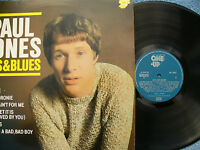PAUL JONES LP HITS & BLUES one up 2231 demo / promo