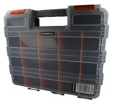 34 vano Storage Box. doppio LATO parti attrezzi Scatola con divisori rimovibili
