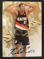 KELVIN CATO SIGNED AUTOGRAPHED 1998 SKYBOX AUTOGRAPHICS BASKETBALL CARD W/COA
