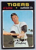 1971  AL KALINE - Topps Baseball Card # 180 - DETROIT TIGERS - HOF