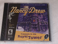 NANCY DREW: Treasure in Royal Tower 3D Interactive Mystery Game (PC, 2001) NEW