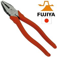 Fujiya Electricians Pliers Heavy Duty 200mm Made in Japan Japanese Quality