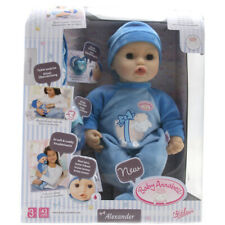 Baby Annabell Alexander 43cm Interactive Baby Doll