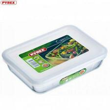 PYREX 241p0006146 Rectangular Dish and Lid 0.8 Litre