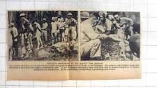 1942 Japanese Prisoners In The Battle For Bataan, General Pierce