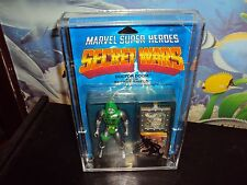 SECRET WARS VINTAGE  FIGURES ACRYLIC THIS SALE IS FOR ACRYLIC CASES ONLY NO TOYS