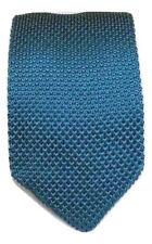 De Alta Calidad para Hombre Moda Corbata de Punto Tejido Corbata Delgada Fina Tejido señaló UK
