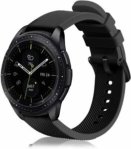 For Samsung Galaxy Watch 4 40mm/44mm Band Soft Silicone Strap Sports Replacement