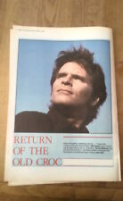 JOHN FOGERTY (Creedence ) 3 page UK ARTICLE / clipping 1985