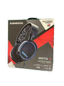STEELSERIES Arctis 5 7.1 Gaming Headset for Xbox One, PS4, PC, PS5, Switch