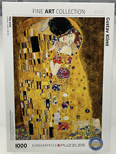 "EuroGraphics Fine Art Collection ""The Kiss"" by Gustav Klimt 1000 Piece Puzzle"