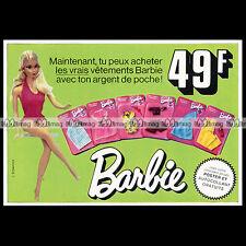 Mattel Vintage BARBIE - 1974 Pub / Publicité / Original Advert #B151
