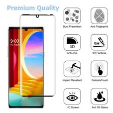 Fit LG Velvet Premium Screen Protector Tempered Glass FULL COVERAGE 3D Curved 9H
