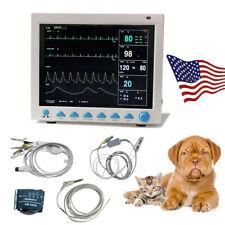 Vet Machine Vital Signs Veterinary Patient Monitor 7 Parameter 121 Inch Cms8000