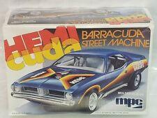 Vintage MPC Hemi Cuda Barracuda Street Machine Model Kit - Sealed!  RARE