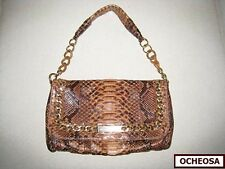 NWOT Michael Kors PYTHON ID Chain-Strap Baguette Bag ! Beautiful & Exotic !!