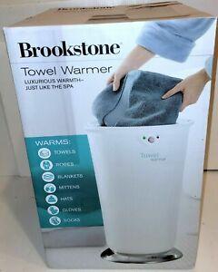 NEW BrookStone Towel Warmer XL Oversized Towels Robes Blankets Model 647156