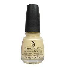 China Glaze Nail Polish Lacquer 83406 Girls Just Wanna Have Sun 0.5oz