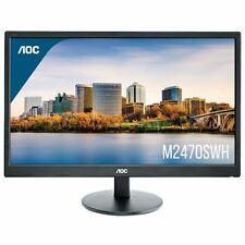 "AOC M2470SWH 24"" LED LCD Computer Monitor FHD 1080P 16:9 HDMI VGA Speaker VA"