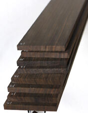 """Macassar ebony guitar fingerboard fretboard blank 2.6x20.75"""" MF61"""