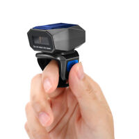 Finger Ring Barcode Scanner USB Wired 1D Laser Reader For iOS Mac OS iPhone 3in1