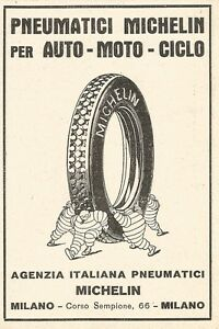 Z2395 Tires Michelin - Advertising 1929 - Vintage Advertising