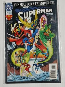 Superman #83 (Nov 1993) DC Funeral for a Friend/Epilogue Comic Book