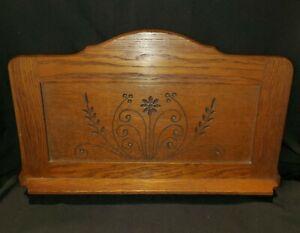 Antique Eastlake Carved Oak Panel Salvage  (J3)