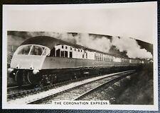 LNER  Coronation Streamline Express    Vintage 1930's Photo Card