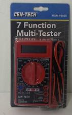Cen Tech 7 Function Digital Multimeter
