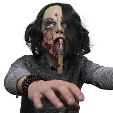 Scary Mask Halloween Horror Scary Face Axe Cosplay Party Mask  Skull Mask New