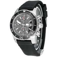 Revue Thommen Men's Diver 45mm Black Rubber Band Automatic Watch 17030.6534