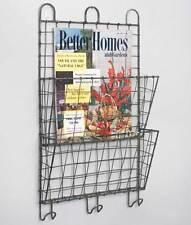 Farmhouse/Cottage/Primitive File Wall Magazine Rack Organizer