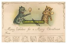 rp09479 - Louis Wain Cats - Playing Table Tennis - photo 6x4