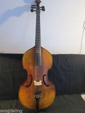 "Solid wood SONG Brand Maestro install Frets 5 strings 27"" viola da gamba"