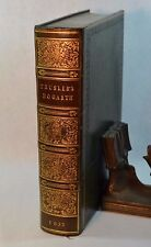 Works of William Hogarth Series of Engravings John Trusler Fine Leather 1833
