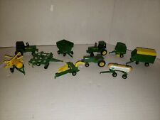 John Deere Lot Of 10 1:64 Die Cast Toys