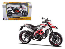 MAISTO MOTORCYCLE 1:12 DUCATI HYPERMOTARD SP White 13015