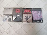 Cassette Tapes Bryan Adams Into the Fire Reckless Cuts like a Knife Self Titled