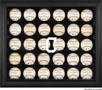 Cleveland Indians Logo Black Framed 30-Ball Display Case - Fanatics