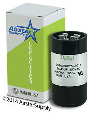 36-43 uF x 220 / 250 VAC • BMI # 092A036B250AC1A Motor Start Capacitor • USA