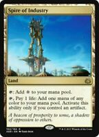 Magic MTG - Spire of Industry - NM - Aether Revolt - Rare - English - Land