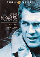 Steve McQueen Collection (Bullitt / Papillon)  New DVD