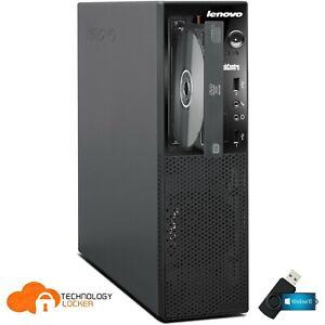Lenovo ThinkCentre E73 SFF Desktop PC i7-4770s @3.10GHz 8GB RAM 2TB HDD Win 10