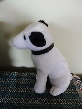 Vintage Toy Plush Stuffed Animal Dog RCA Mascot~ NIPPER with Hang Tag EUC