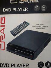 Craig Compact Dvd/Jpeg/Cd-R/Cd-Rw/Cd Player W/ Remote