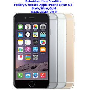 """Original Apple iPhone 6 Plus Unlocked SmartPhone 16/64/128GB 5.5"""" 8MP LTE GradeA"""
